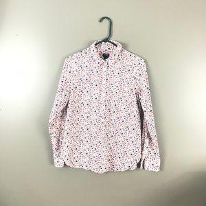 J. Crew Pullover Button Shirt
